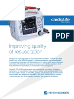 Desfibrilador Cardiolife TEC-5600