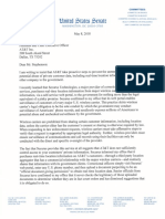 Wyden Securus Location Tracking Letter to Telecoms