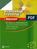 Érettségi trénng  Német