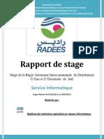 RADEES - TRI - Service Informatique