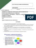 Actividad Proceso Administrativo
