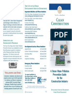NEW ONE_Storm Water Clean Construction Brochure
