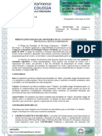 Of. 019-2018 Orientações Monitoria