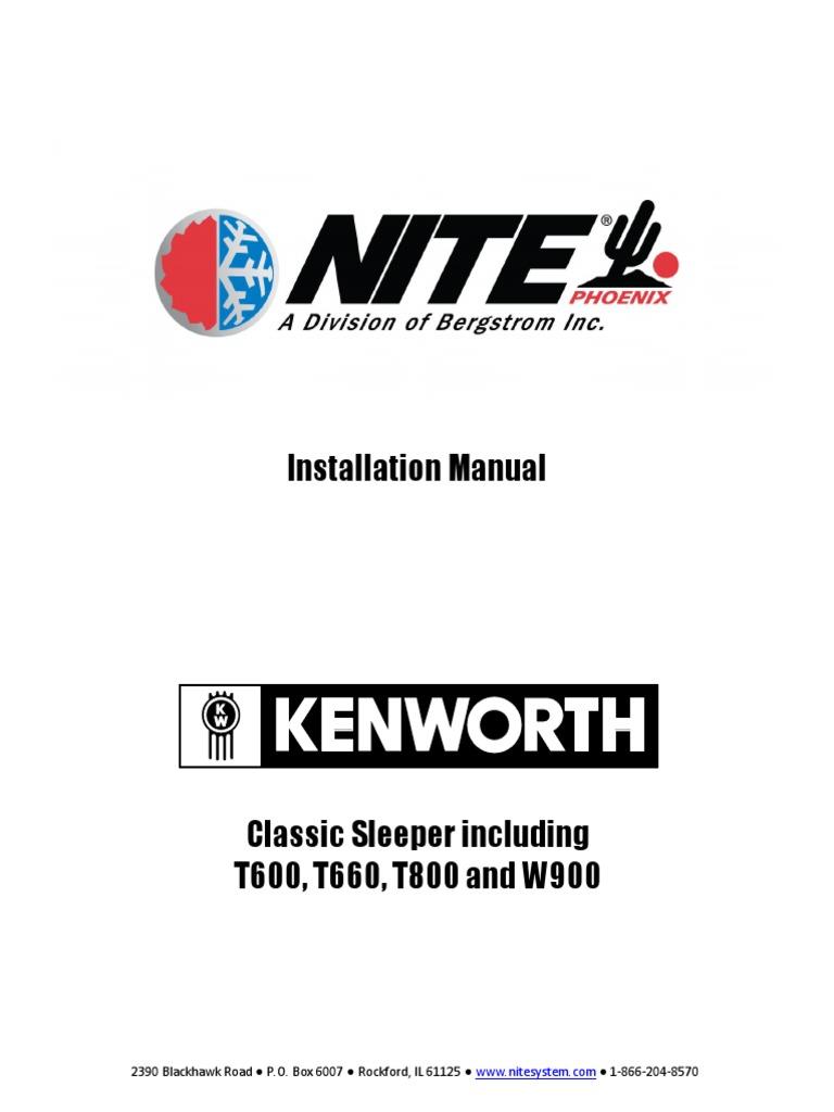 manual fallas kenworth