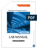 Alice Lab Manual - January 2013