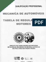 Tabela de Regulagem de Motores