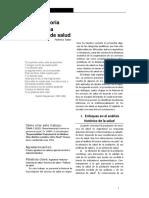 Tobar (2012).Breve Historia del Sistema Argentino de Salud