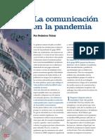 Comunicación en la Pandemia