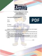3092 Formulir Pendaftaran Peserta