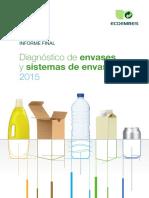 Ecoembes Informe Diagnostico Envases 2015