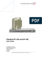 Ceragon FibeAir IP-10G IP-10E User Guide 20120601 Rev a.01
