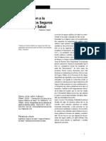 Tobar (2012) Contribución a La Critica de Los Seguros Publicos de Salud