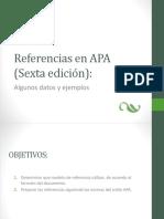 Algunos Ejemplos Referencias APA