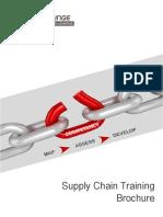 Supply Chain Training Brochure