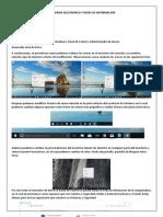 Familiarizar con el escritorio de Windows, Panel de Contol y Administrador de tareas.