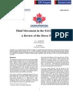 Fluid Movement in a SAGD Process