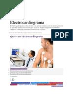 Formas de Hacer Un Electrocardiograma