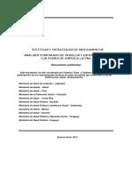 Análisis Comparado de Las Políticas de Medicamentos en América  Latina