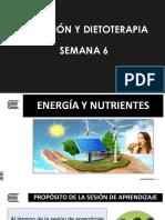 Semana 6 Energía y Nutrientes