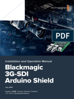 Blackmagic 3G-SDI Arduino Shield Manual