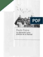 Freire- Educación Como Práctica de La Libertad- La Sociedad Brasileña en Transición