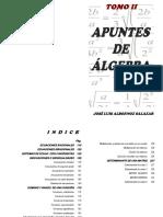 Apuntes Algebra Tomo 2