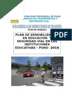 Plan-trabajo Educacion Vial