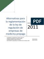 Análisis de la Ley Prepagas en Argentina