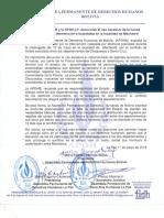 MACHARETI Denuncia violencia estatal