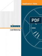 Xirrus Application Note Load Balancing