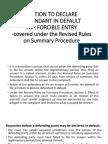 Motion to Declare Defendant in Default (2)
