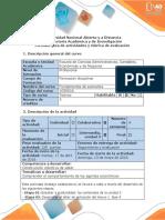 Guía de Actividades y Rúbrica de Evaluación - Fase 4 Comprender El Comportamiento de Los Agentes Económicos