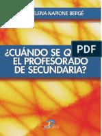_Cuando Se _quema_ El Profesora - Napione Berge, Maria Elena(Auth