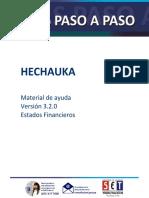 Guia Paso a Paso Hechauka Version 3.2.0. Estados Financieros