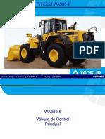 Curso Valvula Control Principal Cargador Wa380 6 Komatsu Partes Componentes Funcionamiento Diagramas Estructuras