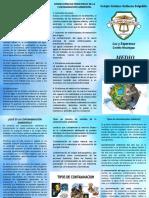 Brochur Medio Ambiente