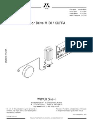 wittur door pdf | Switch | Elevator