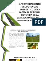 Aprovechamiento Del Potencial Energético de La Biomasa Residual