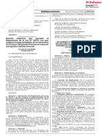 Reglamento de La Ley 30737