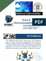Clase 5. Direccionamiento IPv4
