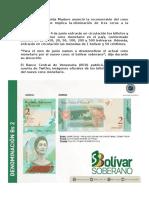 Este Es El Nuevo Cono Monetario Que Anunció Maduro