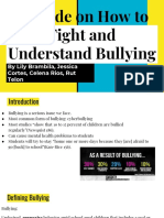 bullying research project  1