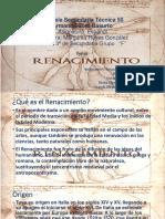 160310 Renacimiento