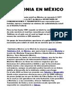 Telefonia en méxico Priscila Elizalde Alfaro