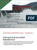Centrales Hidroelectricas y Tuneleria