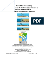 GPS Photo Transects for Benthic Cover Manual