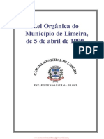 Lei Orgânica - IsS Limeira