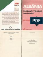 Albânia Horizonte Vermelho Nos Bálcãs