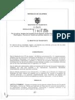 2009 Resolucion 005621 Permisos CirculacionRestringida Placa (1)
