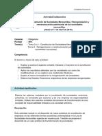Trabajo Colaborativo y Rúbrica Contabilidad Financiera III
